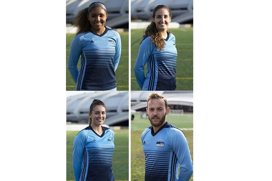 4 étudiants de l'ESG UQAM membres des équipes étoiles 2019