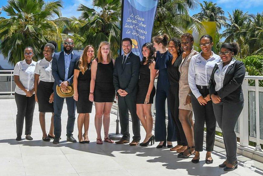 Étudiants de ESG UQAM en Guadeloupe