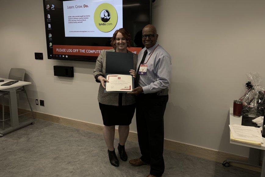 Émilie Bourdages reçoit 2 prix de l ASAC