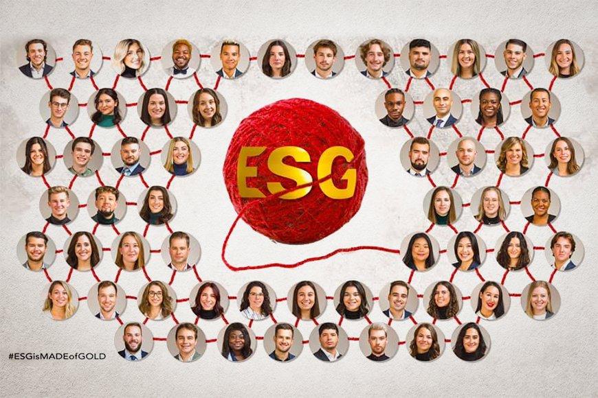 Délégation de l'ESG UQAM aux Jeux du Commerce 2021