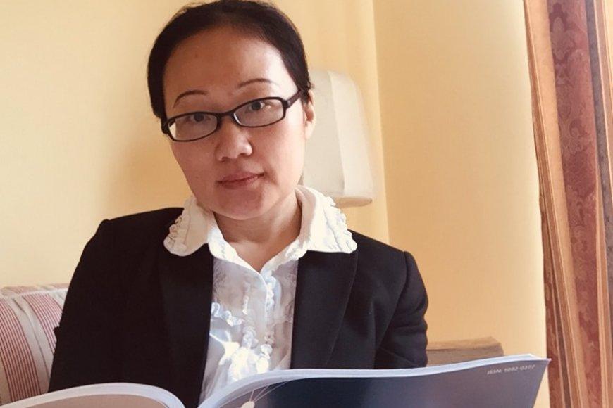 Min Zhang, doctorante en finance