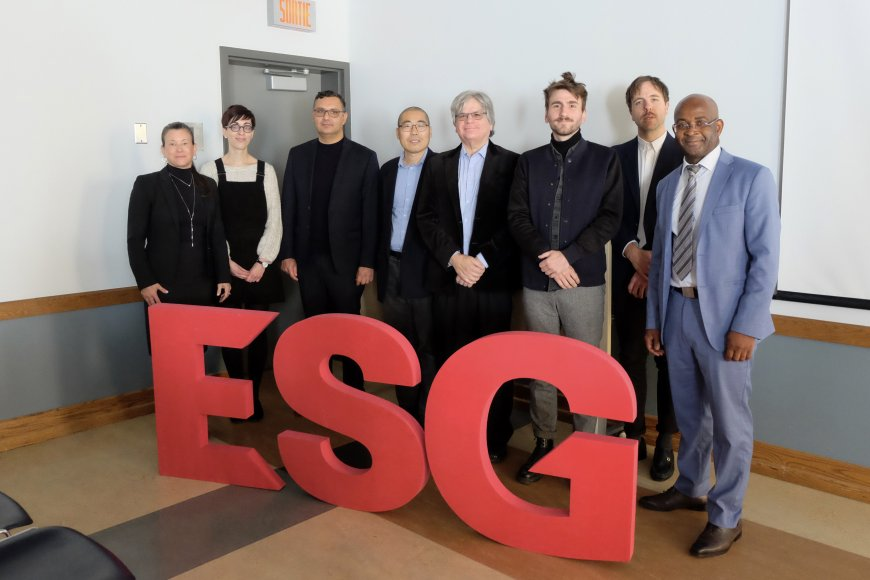 Accueil des nouveaux professeurs et chargés de cours de l'ESG UQAM