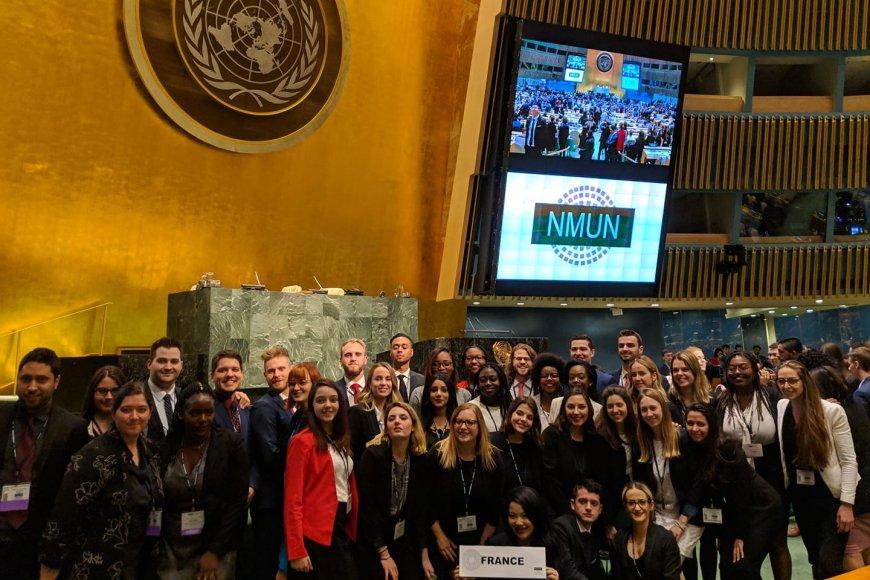 simulation des Nations Unies à New York