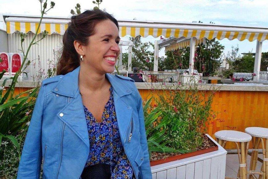 Rachèle Abesque-Lesueur, étudiante au bac en gestion et design de mode