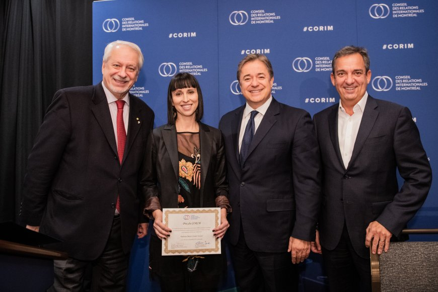 La doctorante Marie-Claude Savard reçoit le Prix du CORIM