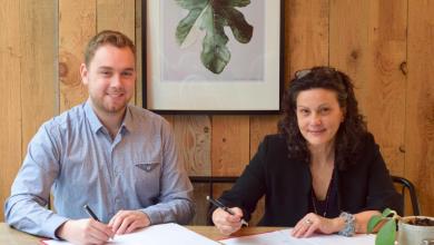 Signature d'une entente entre l'ESG+ et Amélio