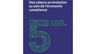 L'Observatoire de la consommation responsable dévoile la 5e édition de l'Indice Kijiji de l'économie de seconde main