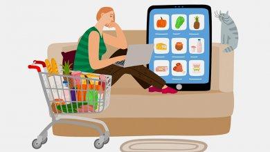 L'épicerie en ligne de plus en plus populaire