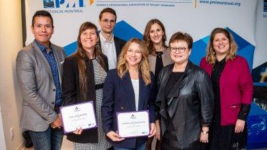 PMI Montréal félicite des étudiant(e)s et des diplômées de l'ESG UQAM