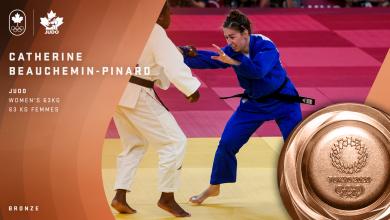 Jeux olympiques : Catherine Beauchemin-Pinard remporte la médaille de bronze