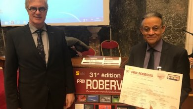 Le professeur Jean-Marie Bourjolly reçoit une mention spéciale lors du 31e prix Roberval en Belgique.