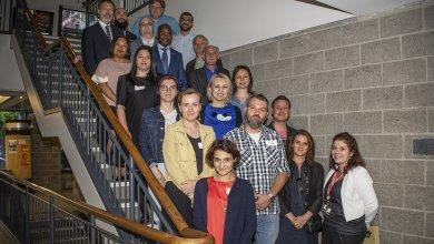 La seconde cohorte du MBA pour cadres en Roumanie visite l'ESG UQAM
