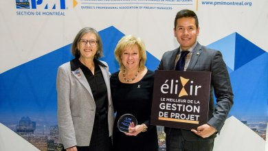 La diplômée Martine Lapointe reçoit le prix Carrière MGP