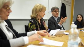 table de discussion : diversité et gouvernance