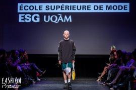 L'École supérieure de mode défile à la Fashion Preview