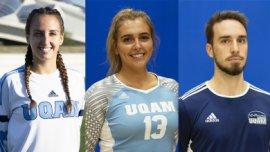 étudiants athlètes honorés