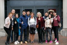 La onzième cohorte du MBA pour cadres en Chine visite l'ESG UQAM