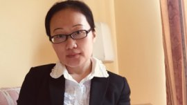 Min Zhang, doctorante en finance