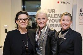 Aude Clotteau, Isabelle Hudon, LIsa Baillargon